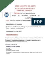GUIA LEYES DE LOS GASES