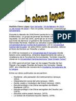 Matilde Elena López