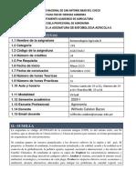 SILABO VIRTUAL DE LA ASIGNATURA DE ENTOMOLOGIA AGRICOLA II.