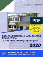 Kota Administrasi Jakarta Selatan Dalam Angka 2020, Penyediaan Data Untuk Perencanaan Pembangunan.pdf
