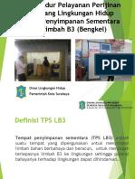 PAPARAN TPS B3 bengkel 20 Agustus 2019