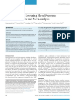 Acupuncture for Lowering Blood Pressure Systematic Review and Meta Analysis