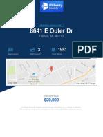 8641 E Outer Drive