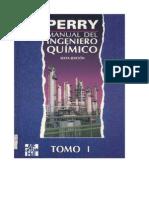 Manual del Ingeniero Químico - Perry - Sexta Edición