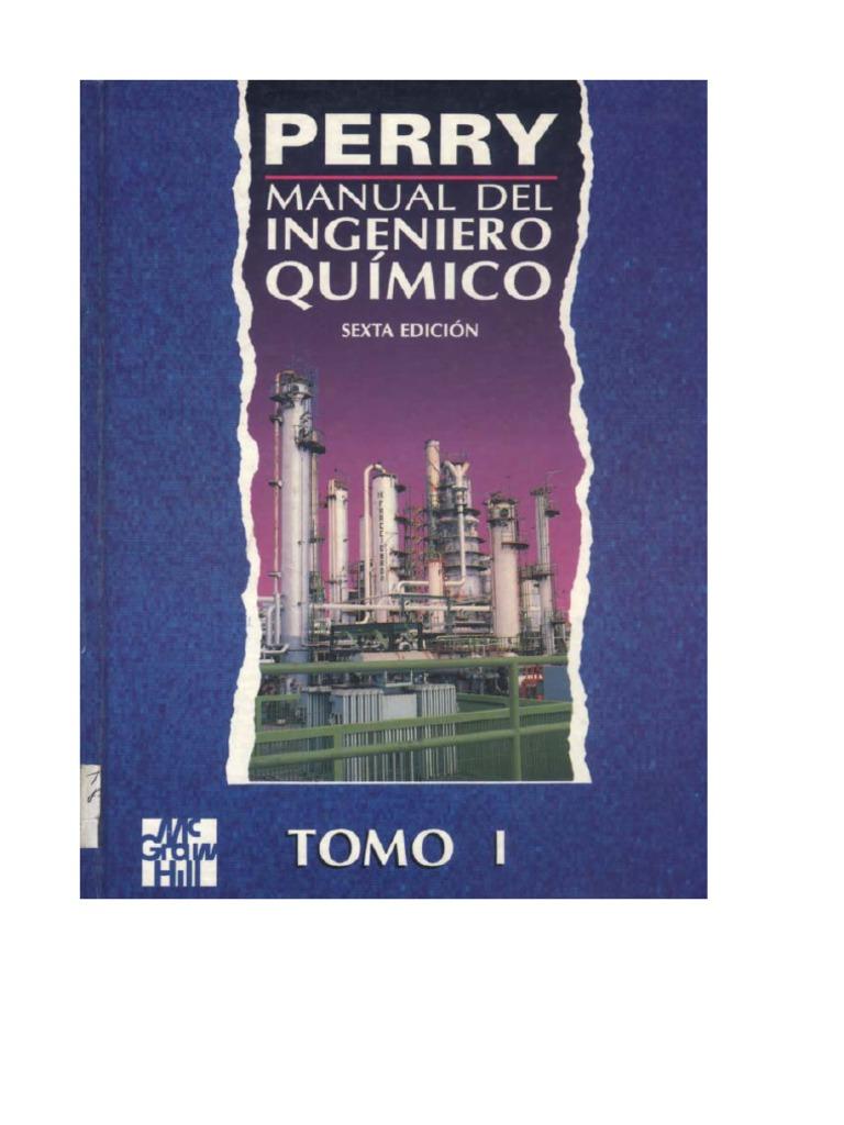 Manual del ingeniero qu mico perry sexta edici n for Perry cr309 s manuale