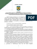 Proiect de HG pus in dezbatere de Ministerul Fondurilor Europene - masuri 2021-2027