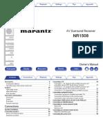 Marantz nr1508_manual