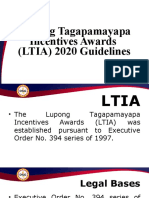LTIA Guidelines