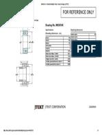 NN3010K _ Product detail(for Print) _ Koyo Bearings (JTEKT)