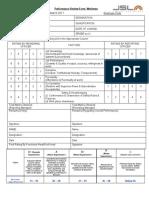 5. Performance Review Form- Workmen