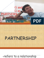 Thinking and Working as Partners