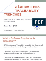 IEEE - Motivation Matters In Traceability Trenches