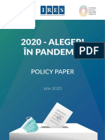 Ires_2020 - Alegeri in pandemie_Policy paper