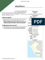 Distretto di Patambuco - Wikipedia