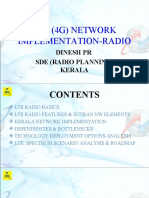 LTE Radio -Basics & Practical Impelementation aspects
