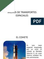 Medios de Transportes Espaciales