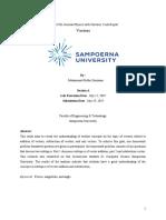 Lab Report Vector addition