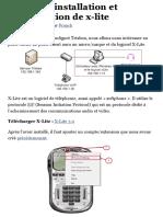 Trixbox – installation et configuration de x-lite | Tuto-Linux