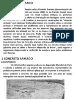 CCE 0183 - CONCRETO I  26  03 20