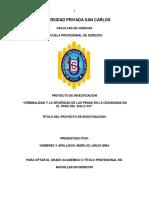 """""""CRIMINALIDAD Y LA SEVERIDAD DE LAS PENAS EN LA CIUDADANIA EN EL PERÚ DEL SIGLO XXI"""".pdf"""