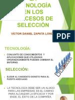 """LA TECNOLOGÃ_A EN LOS PROCESOS DE SELECCIÃ""""N"""