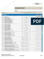 AKS Vetrotech Fire Protecting Glass and Security Glass Pricelist EN per 2015-04-09 AKS SEE SWB