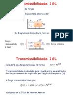 Aula IV   Transmissibilidade 1GL