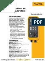 Pressure Calibrators datasheet