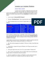Como Formatar o Pc e Instalar Windows