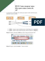 OBYG E OBYE Como mapear uma conta simbólica para uma conta do Razão no SAP