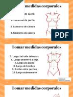 Medidas corporales superiores