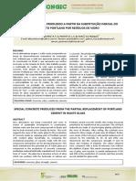 Artigo - Concreto especial com substituição parcial do cimento por vidro.pdf