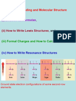 CHE 2511 - 003 - Electron-dot Formulae, Lewis Structures and Formal Charges.ppt