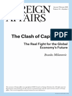 Branko Milanovic - The Clash for Capitalisms