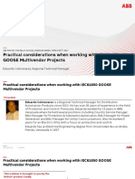 Practical Considerations when working with GOOSE based multivendor projects