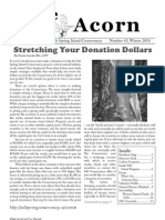 Winter 2010  Acorn Newsletter - Salt Spring Island Conservancy