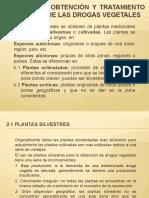 FARMACOGNOSIA I - CAP 2 GENERALIDADES