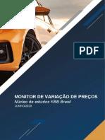 Monitor de Variação de Preços KBB - Autos - Junho-2020