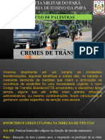 14 - CRIMES DE TRÂNSITO