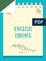 English idioms4