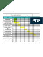 Cronograma de Implementacion SIG