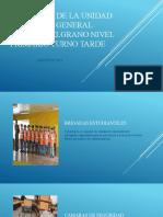PROPUESTA DE LA UNIDAD EDUCATIVA GENERAL MANUEL BELGRANO