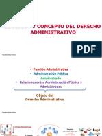 El Objeto y Concepto del Derecho Administrativo - Ricardo Salazar
