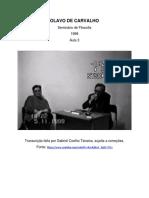 Olavo de Carvalho - Seminário de Filosofia 1999 Transcrição.pdf