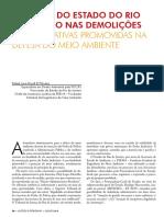 demoliçoes administrativas promovidas na defesa do meio ambiente
