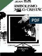 Jean Hani - O Simbolismo do Templo Cristão.pdf