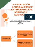 LegislacionColombianaFrente_Tercerizacion_Aciertos_Equivocos