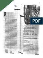 Las Secuencias Didácticas en El Jardín de Infantes. Laura Pitluk