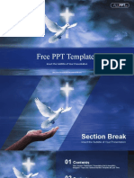 Dove Holy Spirit PowerPoint Templates