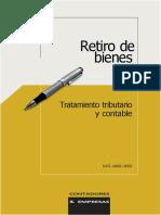 Retiro de bienes contadores & Empresas